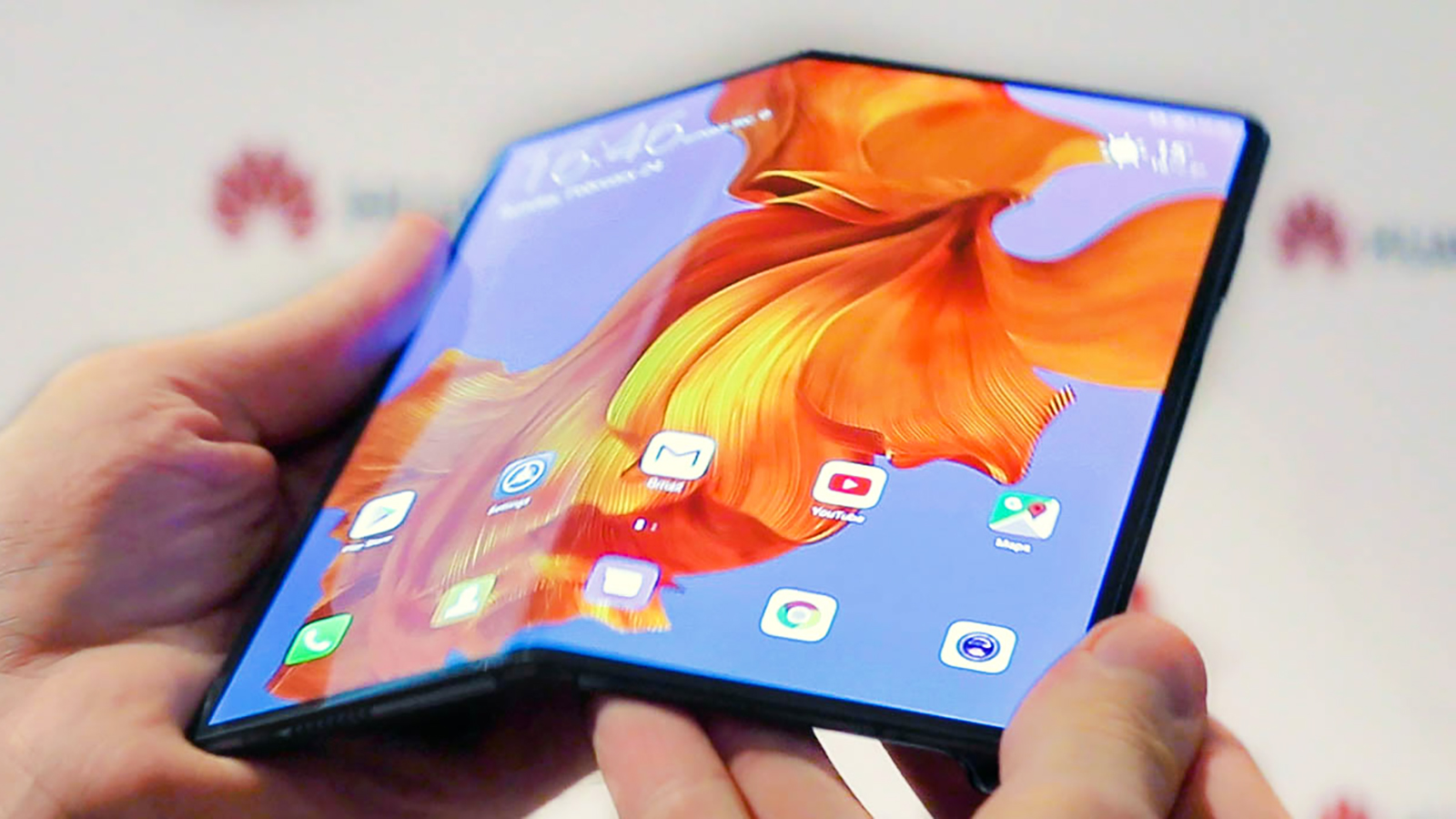 Huawei proceeds to prods its forthcoming Mate X2 foldable phone