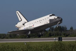 Space Shuttle Atlantis Lands Safely After Final Voyage