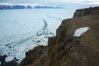 Petermann Glacier in Greenland calved an iceberg larger than Manhattan.