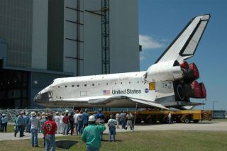 Shuttle Discovery Moves Closer Towards July Launch