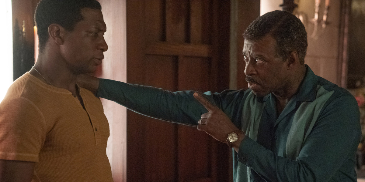 Jonathan Majors and Courtney B. Vance on Lovecraft Country