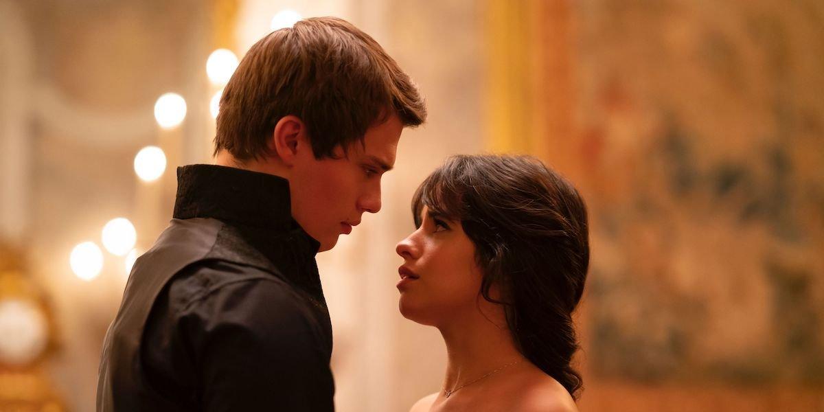 Camila Cabello and Nicholas Galitzine in Amazon's Cinderella