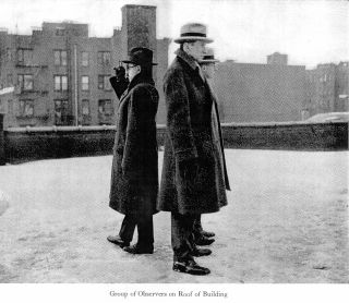 1925 eclipse observers