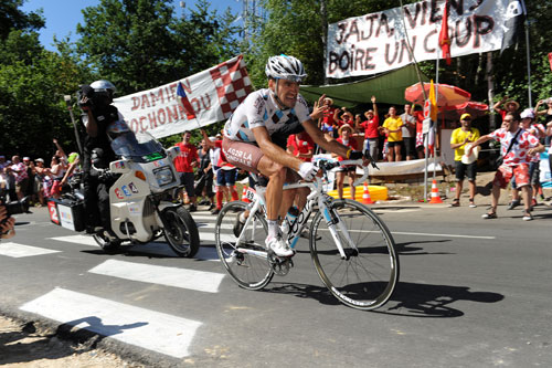 Christophe Riblon, stage 14, Andy Jones at the Tour de France 2010