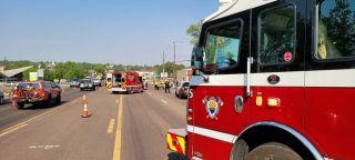 Show Low Arizona crash Bike the Bluff