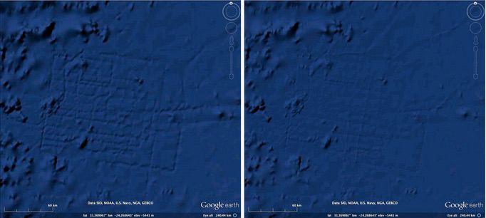 Google Earth Update Erases Underwater 'Atlantis' Error ... on google oceans 3d, google earth atlantis coordinates, google earth finds atlantis, google earth sea floor, google earth ocean topography, google earth ocean map, google ocean atlantis,