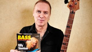 "Billy Sheehan: ""I love playing. I can sit down for three hours and have a one-man party on the bass"""
