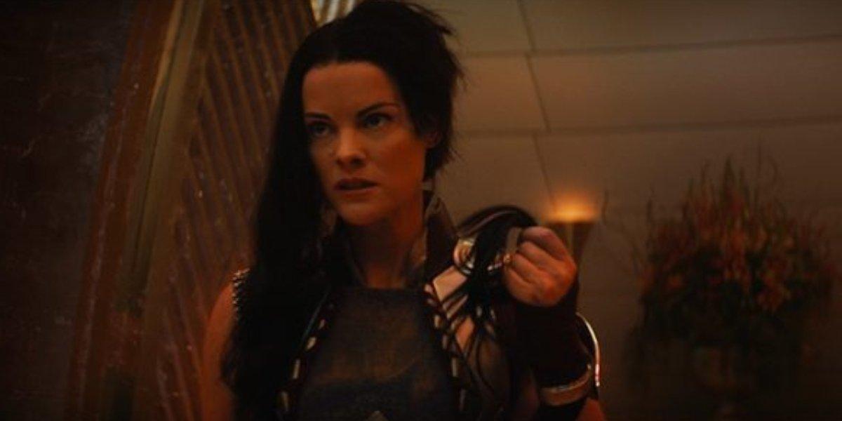 Jaimie Alexander as Sif on Loki
