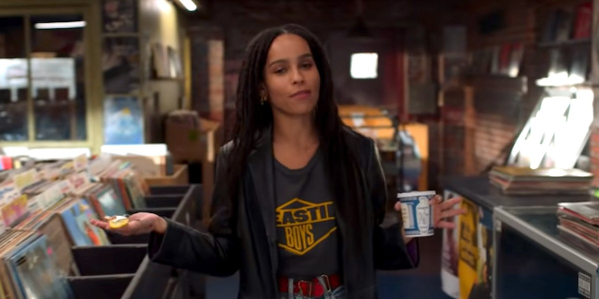 Zoë Kravitz on High Fidelity