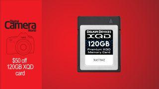 deal Delkin 120GB XQD