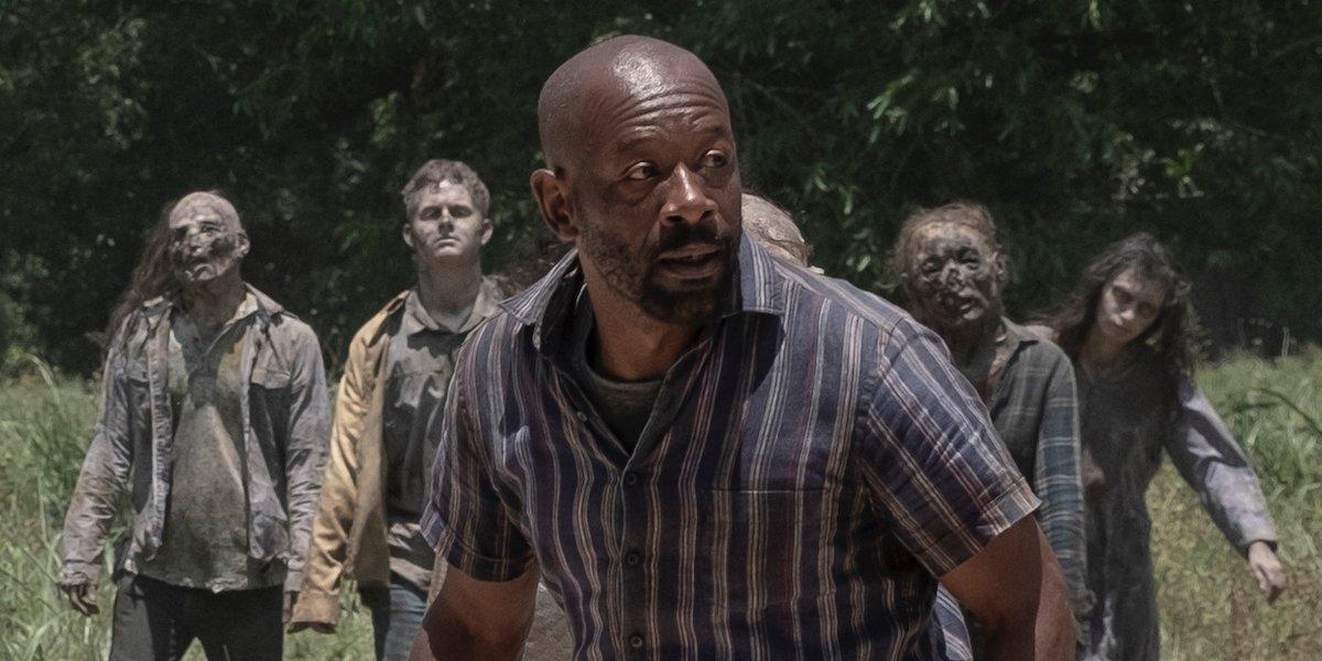 morgan and walkers fear the walking dead season 5