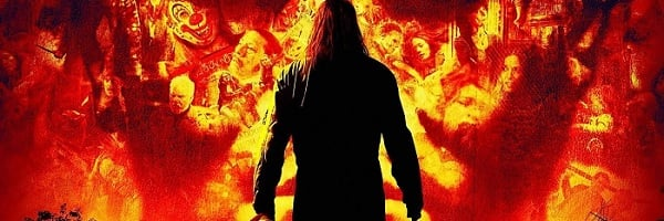 Halloween (2007) Michael Myers stands in silhouette