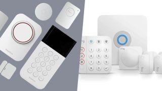 ring and simplisafe hardware