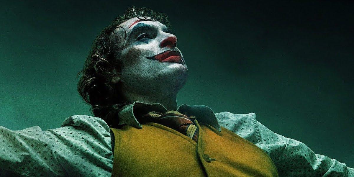 Joker dancing in the bathroom
