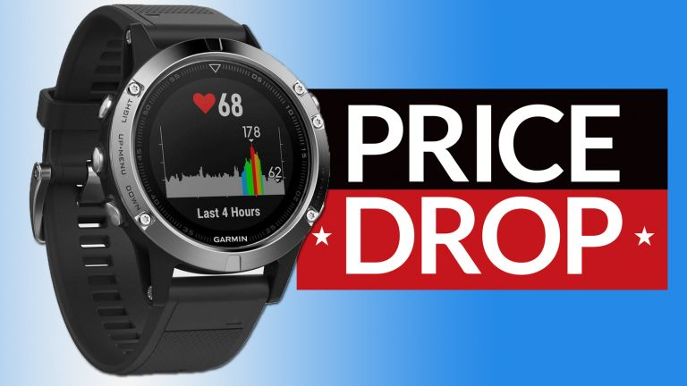 cheap Garmin fenix 5 deal fitbit rival running watch deal