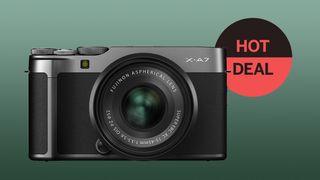 Save £200 on Fujifilm X-A7 + 15-45mm lens