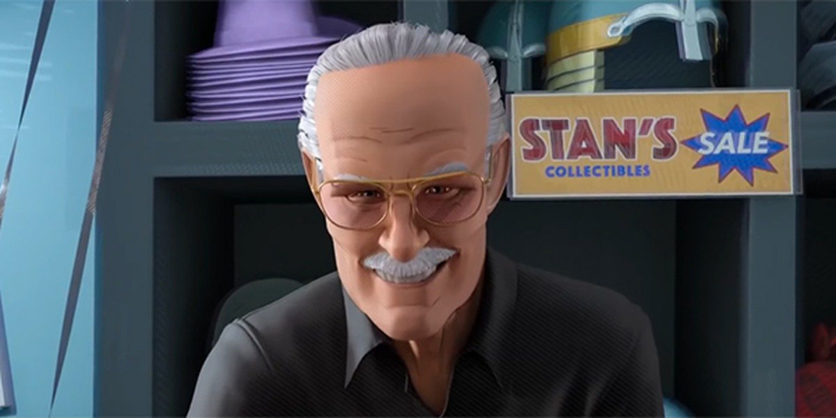 Stan Lee's cameo in Into the Spider-Verse
