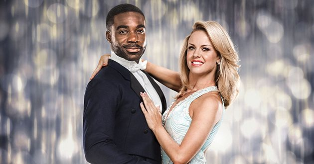 WARNING: Embargoed for publication until 00:00:01 on 20/09/2016 - Programme Name: Strictly Come Dancing 2016 - TX: 24/09/2016 - Episode: Strictly Come Dancing 2016 - Couples (No. n/a) - Picture Shows: L-R. **IMAGE UNDER EMBARGO UNTIL 00.01 ON TUESDAY 20 SEPTEMBER 2016** Ore Oduba, Joanne Clifton - (C) BBC - Photographer: Jay Brooks