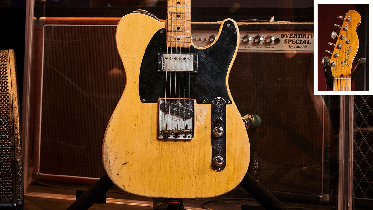 The history of the Fender Telecaster, the world's first mass-produced solidbody electric guitar