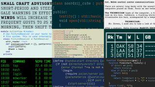 Monospace font: Input