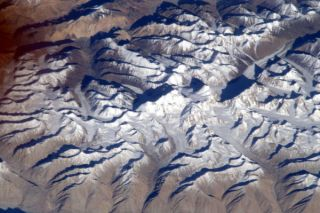 Mount Everest from Space