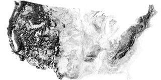 Earth shadow maps