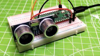Ultrasonic Sensor with Raspberry Pi Pico