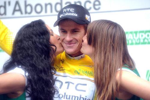 Michael Rogers, Tour de Romandie 2010, stage 4