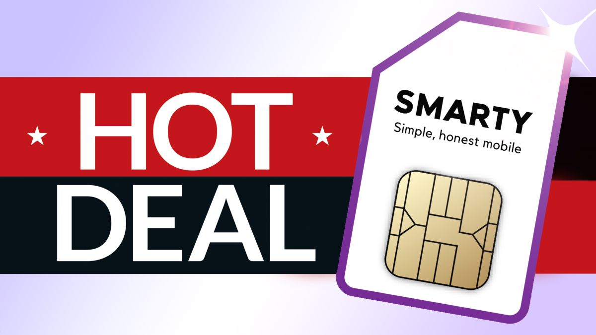 This contract-free SIM only deal from Smarty delivers 30GB data for £10 p/m!