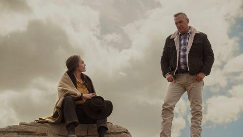 Diane Lane and Kevin Costner in 'Let Him Go.'