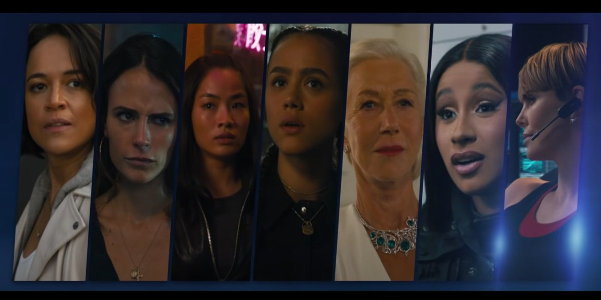 Fast And Furious Video Shows The Badass Women Of F9 Including Cardi B
