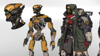 Borderlands 3 Fl4k Concept Art Finally Reveals The Robot