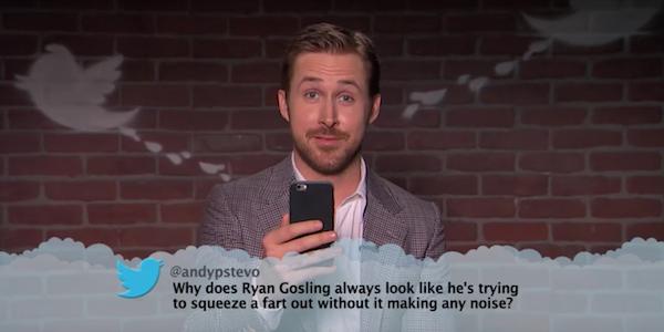 Ryan Gosling Mean Tweets