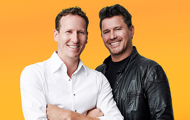 X Factor Celebrity Brendan Cole and Jeremy Edwards