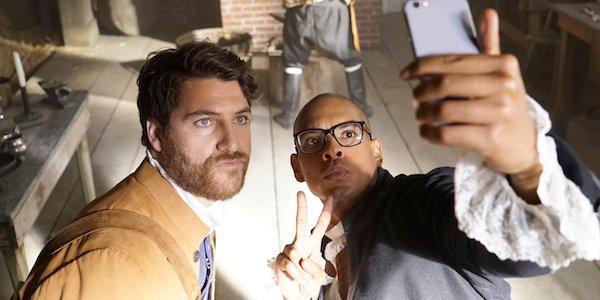 making history stars selfie