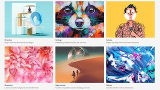Stock art websites: Adobe Stock