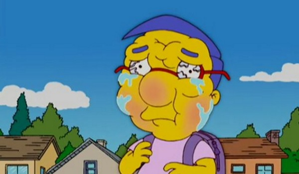 milhouse simpsons allergies