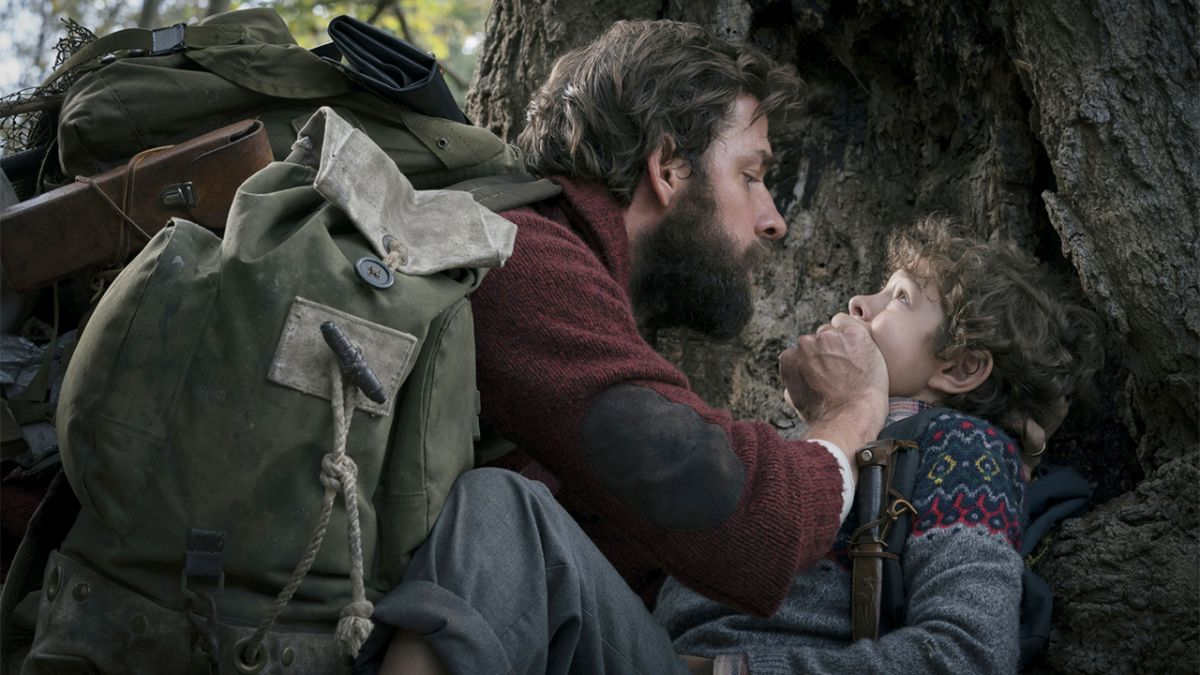 A Quiet Place?s John Krasinski also played a secret, far more terrifying role in the movie