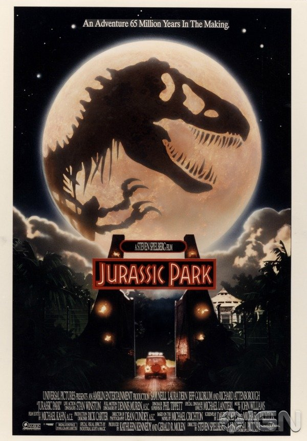 These Alternate Jurassic Park Posters Are Decades Old And
