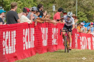 Maghalie Rochette (Specialized X Feedback Sports) won on day 1 of FayetteCross