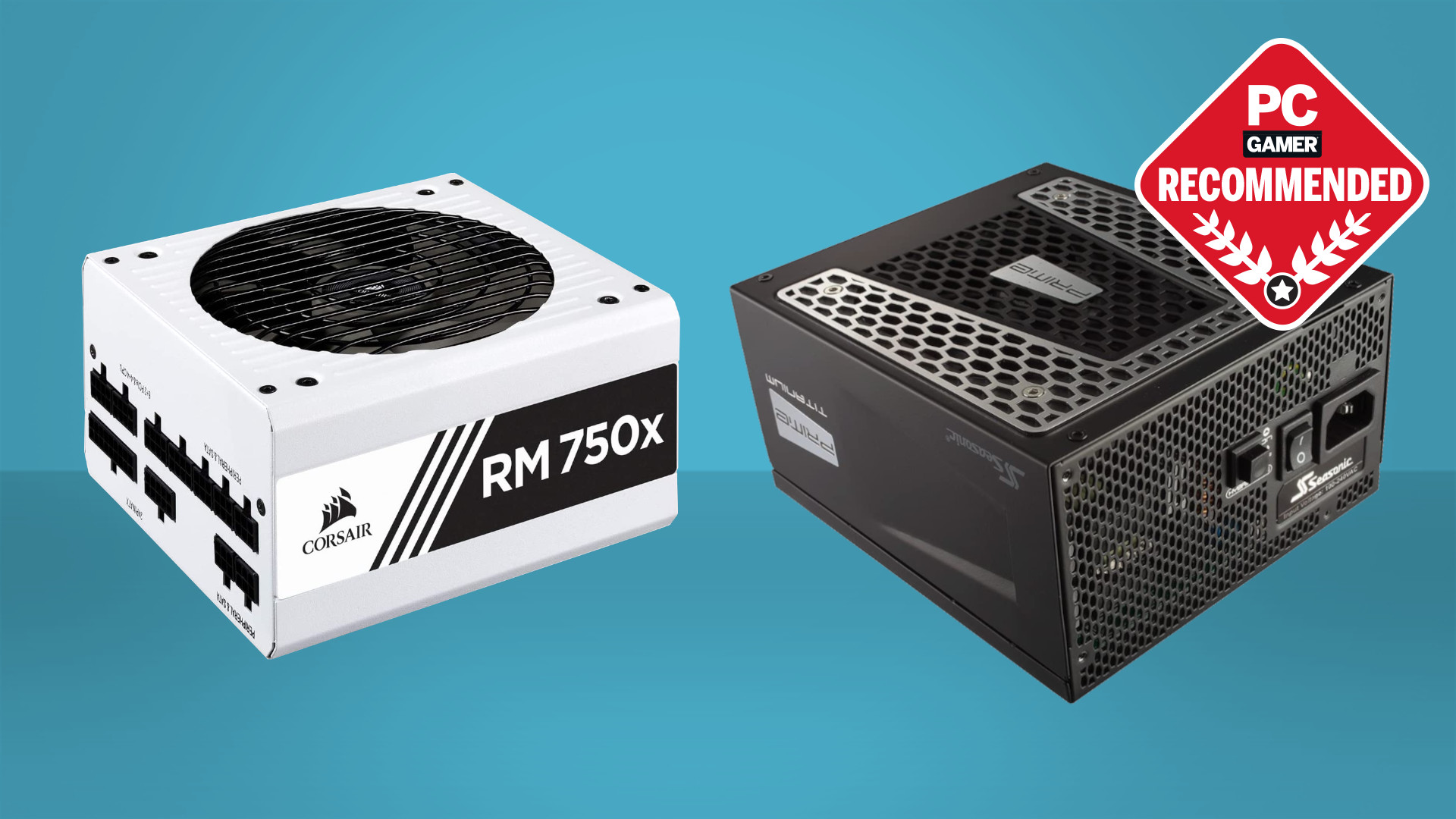 Two of the best power supply units for PC gaming from Corsair and Seasonic