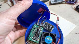 Feehan's sensor and e-ink package