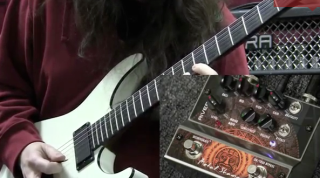 video jon donais of shadows fall demos rivera metal shaman and double shaman pedals guitarworld. Black Bedroom Furniture Sets. Home Design Ideas