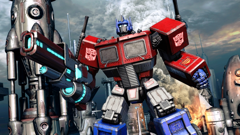Transformers: Fall Of Cybertron Pre-Order Unlocks Old School Optimus, Bruticus #22195