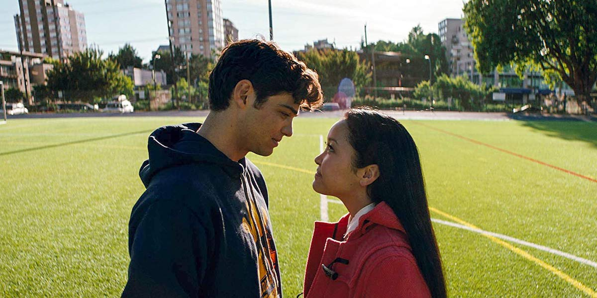 Noah Centineo and Lara Condor in To All the Boys I've Loved Before