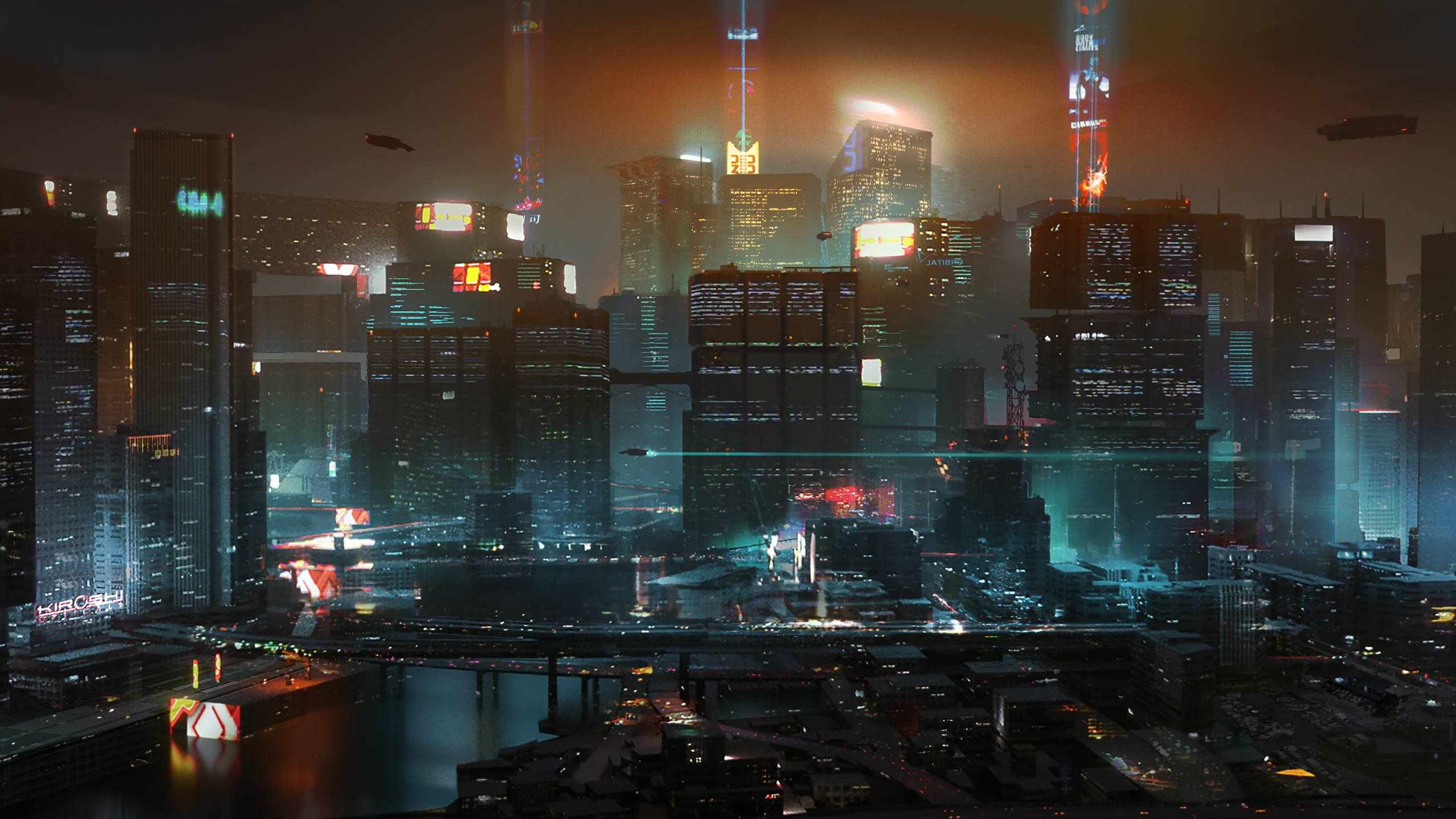 Here S Some Beautiful New Cyberpunk 2077 Concept Art Pc Gamer