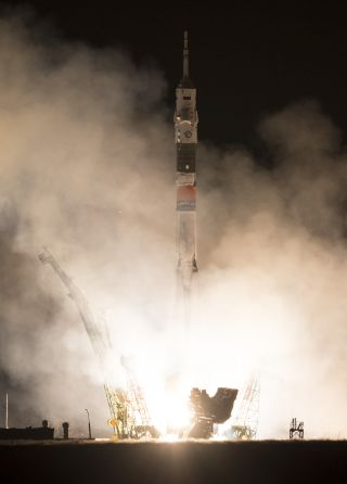 Soyuz Launches Toward ISS