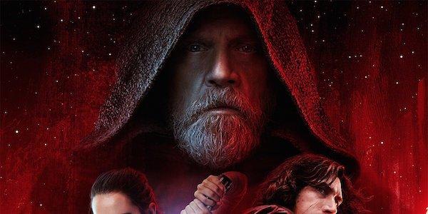 Luke Skywalker on the poster