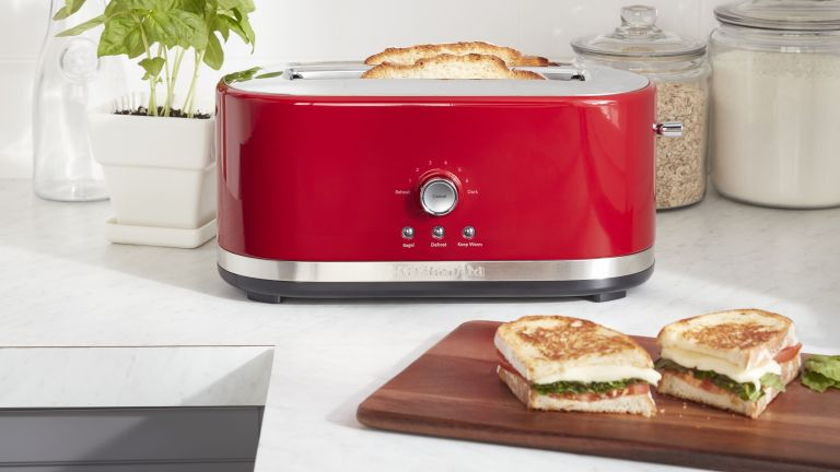 KitchenAid Toaster Long Slot 4 Slice 5KMT4116 toaster