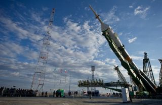 Russian Soyuz to Launch New Space Station Crew Today
